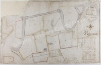 Historic map of Hawes 1766